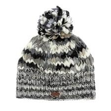 Bonnet chine noir/blanc
