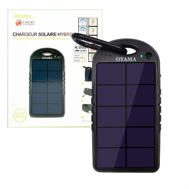 chargeur solaire hybride avis