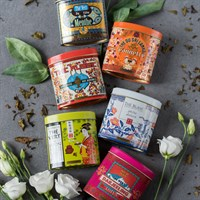 TEA GIFTS: SET OF 6 ORGANIC TEAS