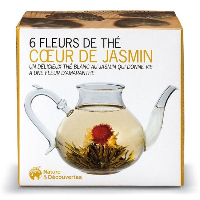 fleurs de thé cœur de jasmin   nature & découvertes