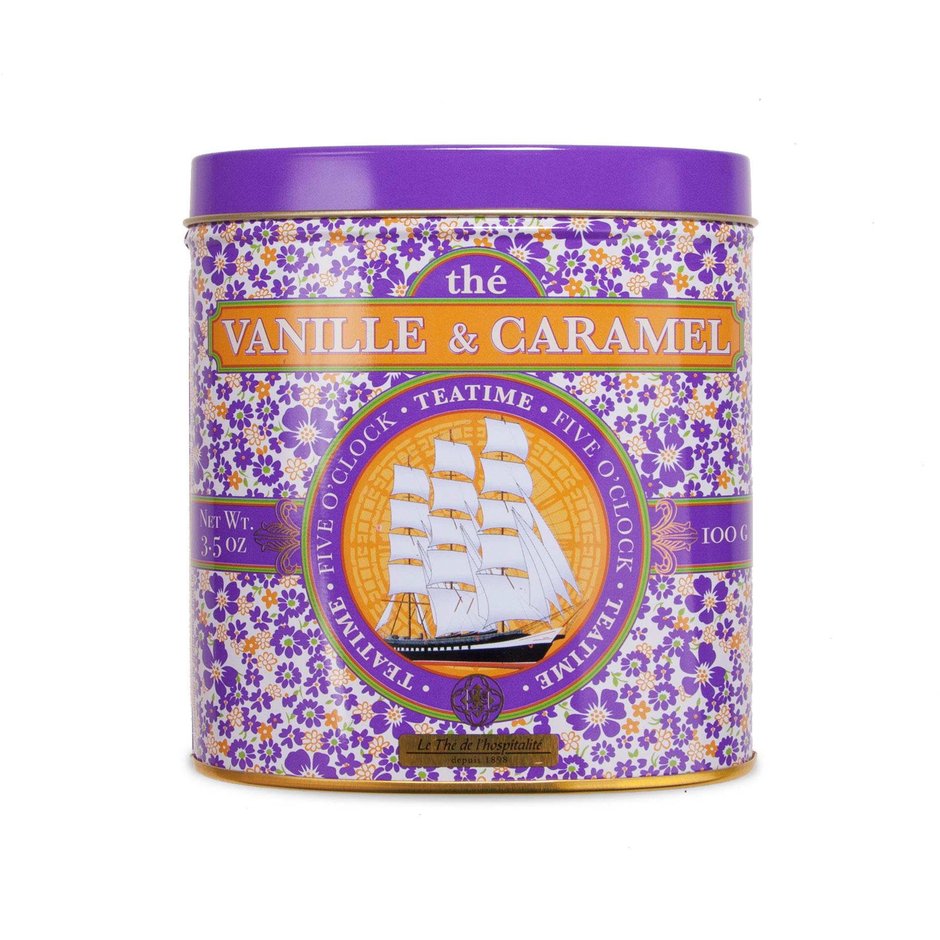 Thé Caramel Bio Vanille Noir Et PukZwOXiTl