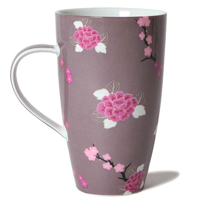 mug fleurs en porcelaine nature d couvertes. Black Bedroom Furniture Sets. Home Design Ideas