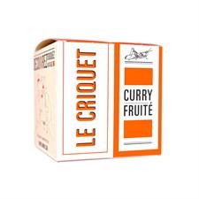 Criquet au curry fruité