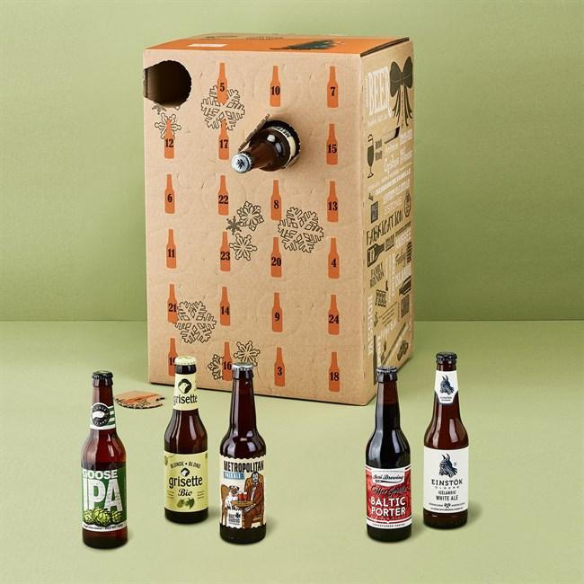 Calendrier de l 39 avent biere nature d couvertes - Calendrier de l avent biere carrefour ...
