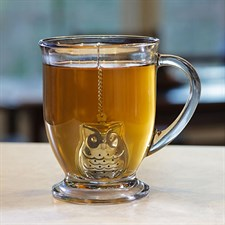 Filtre à thé chouette