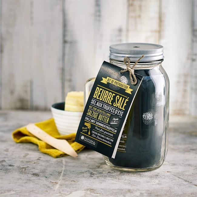 Kit de fabrication beurre salé truffe