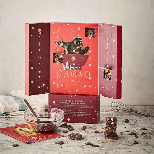 calendrier de l 39 avent diy show cacao nature d couvertes. Black Bedroom Furniture Sets. Home Design Ideas