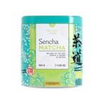 Thé vert bio Sencha et poudre Matcha
