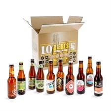 Coffret 10 bières bio