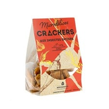Crackers insectes chili