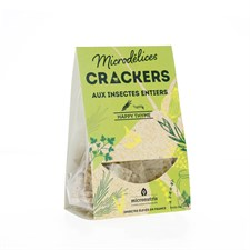 Crackers insectes happy thyme