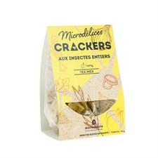 Crackers insectes tex mex