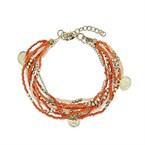 Bracelet alpha corail