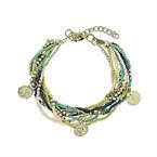 Bracelet alpha vert