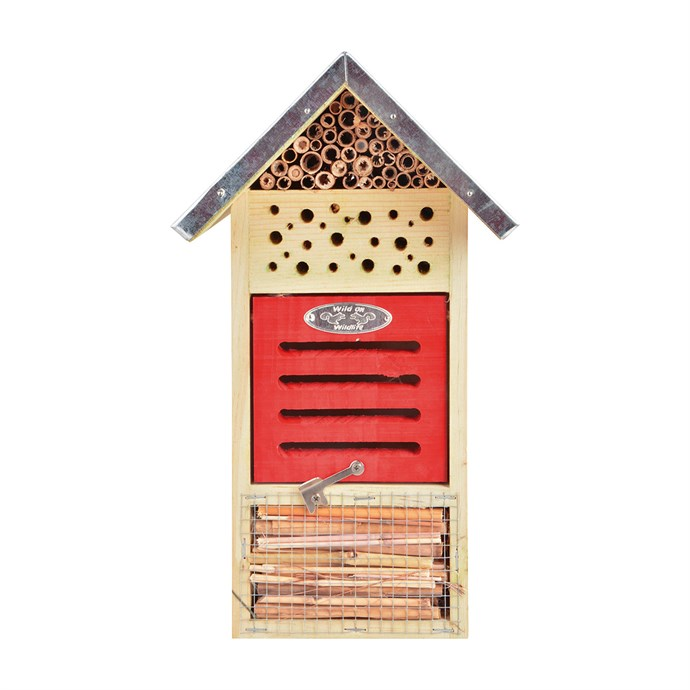 hôtel à insectes petit modèle   nature & découvertes