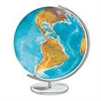 Globe duo en verre cristal, 40 cm