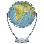 Globe duorama en verre acrylique, 100 cm