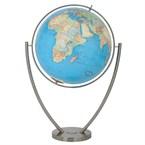 Globe duo en verre acrylique, 77 cm