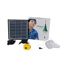 Kit solaire d'éclairage 1 ulitium 200 su