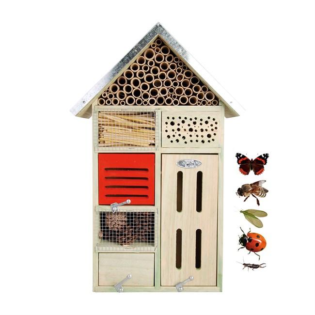 hotel à insectes moyen modele   nature & découvertes