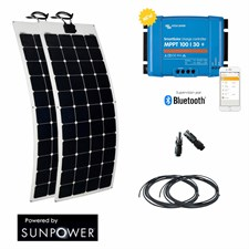 Kit solaire 300w flexible camping-car /