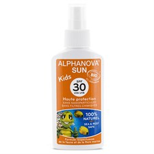 Spray solaire kids spf 30 bio