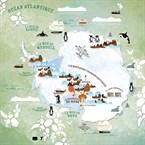 Antartic map