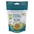 Graines à germer alfalfa - radis - fenou