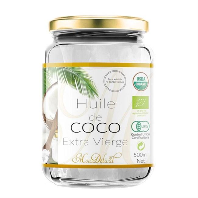 Huile coco certifié bio - 500ml