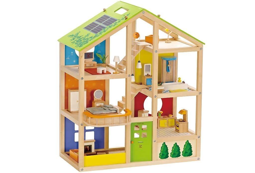 Maison De Poupée Poupées Meubles Tabouret Holzhocker rustique Nature Rülke 22288