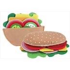 Jouet sandwich tissus melissa & doug