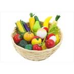 Corbeille de petits fruits et légumes go