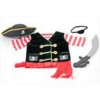 Costume de pirate 3 - 6 ans