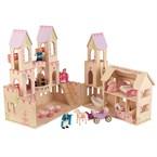 Maison poupées château princesse