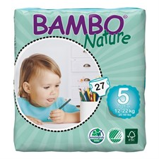 Couches bambo nature 12/22 kg