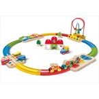 Circuit de train musical  hape 1er âge