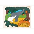 Puzzle en bois animaux d'asie hape