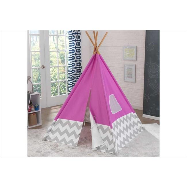 tipi enfant rose kidkraft 00227 rose nature d couvertes. Black Bedroom Furniture Sets. Home Design Ideas