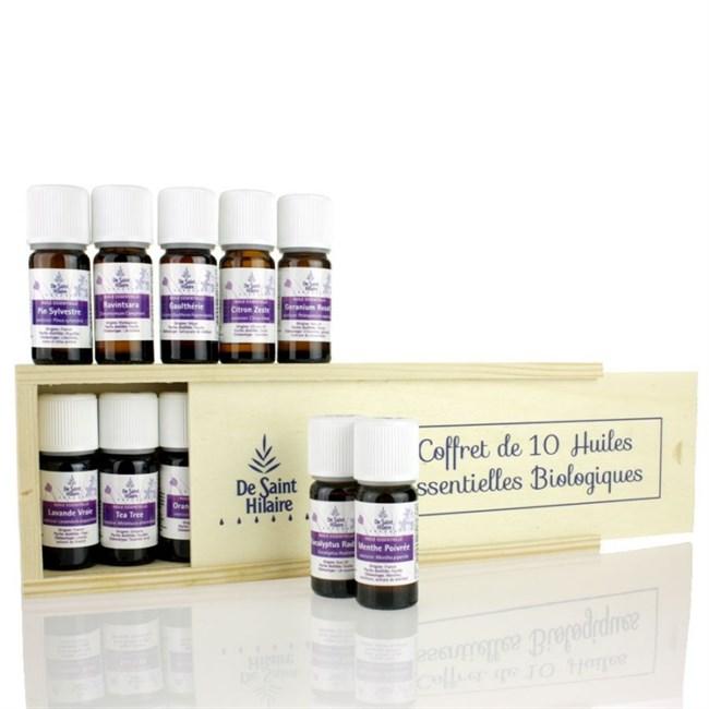 coffret 10 huiles essentielles nature d couvertes