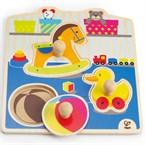 My toys by hape knob puzzle en bois