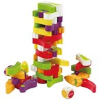 Jeu amusant enfant stacking veggie game
