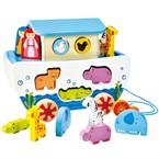 Jeux d éveil bébé pull along noah's ark