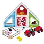 Jouet ferme enfant transformable maison