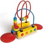 Jeu enfant circuit de train bead maze ra