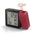 Réveil projection d'heure et thermomètre