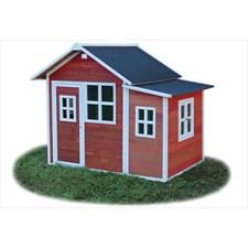 Cabane enfant rouge loft 150