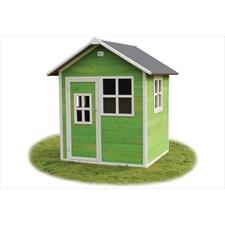 Maisonnette verte pour enfant loft 100