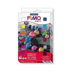 Coffret fimo soft 12 x 1/2 pains