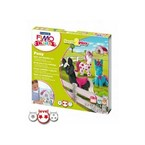 Fimo kids form and play poneys