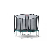 Trampoline berg favorit + safetynet ...